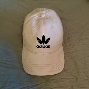 Women's pale pink adidas hat